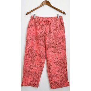 💰3/20$💰VILLAGER bohemian print cropped pants